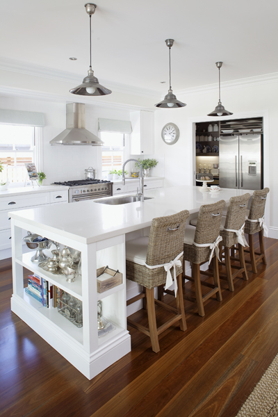 Chic Bloggers and Their Coastal Kitchen