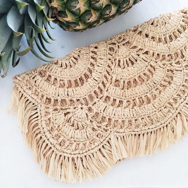Mar y Sol Giselle woven clutch   Beautifully Seaside