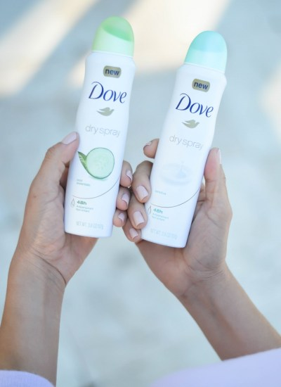 LOVING THE NEW DOVE DRY SPRAY