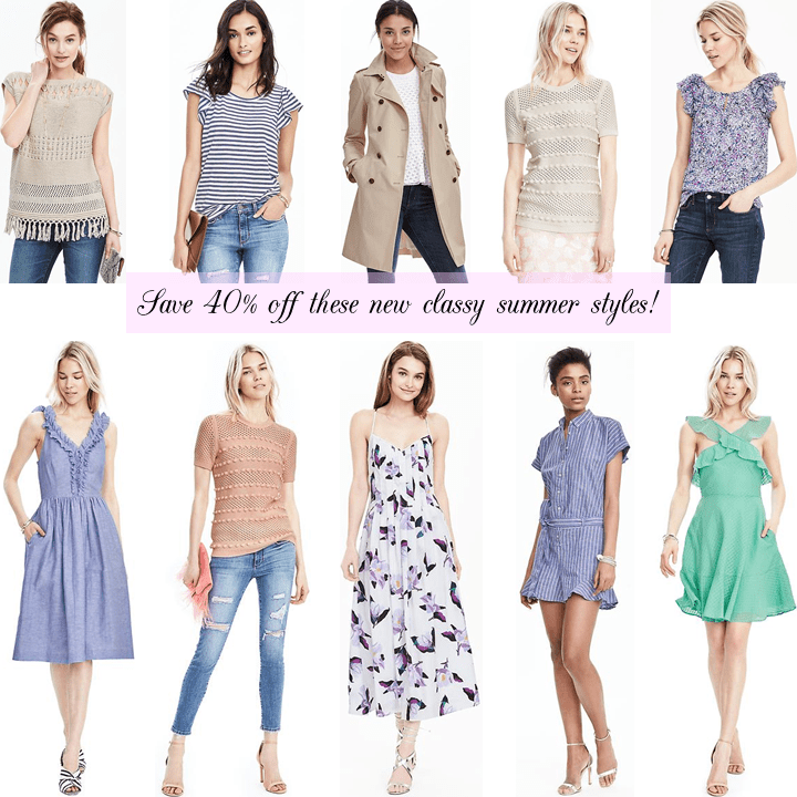 NEW CLASSY SUMMER RESORT WEAR STYLES ON SALE FOR 40% OFF