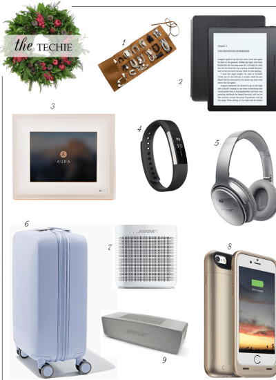 CHRISTMAS GIFT GUIDE // THE TECHIE