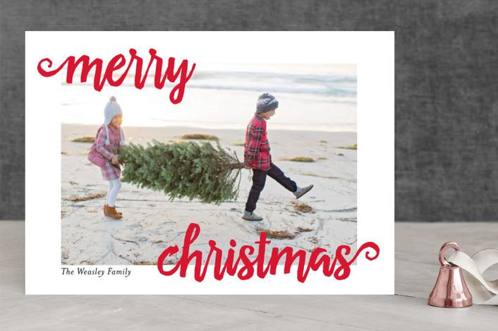 Minted Christmas Cards.Minted Christmas Card Giveaway Beautifully Seaside