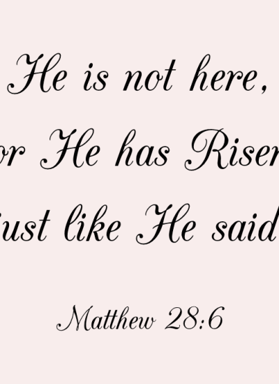 HAPPY HOLY EASTER!