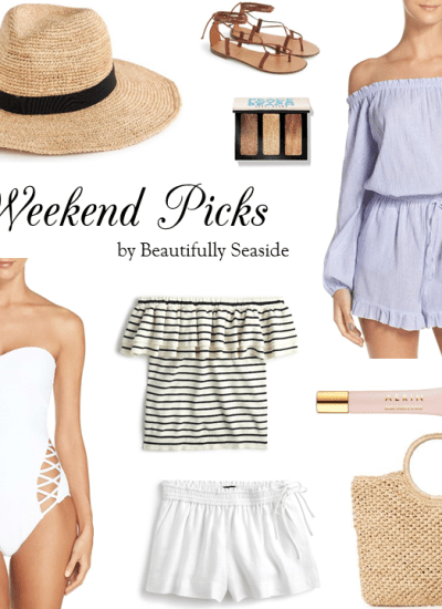 WEEKEND PICKS // THE PERFECT ONE-PIECE SWIMSUIT