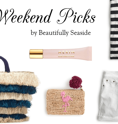 WEEKEND PICKS // MADE IN THE SHADE