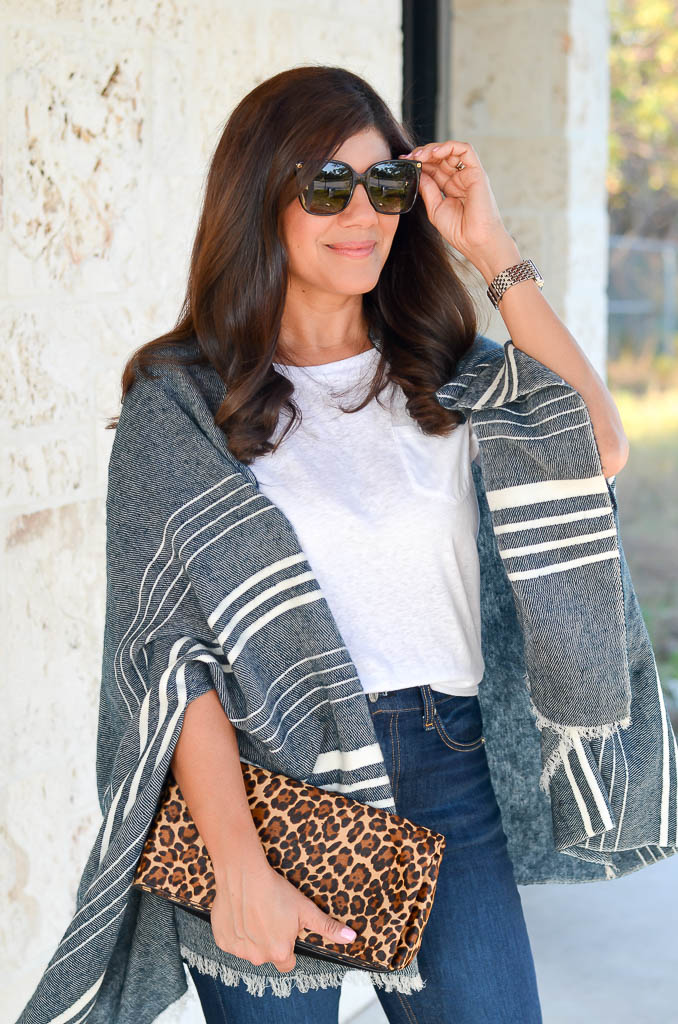 STYLING THE FALL CAPE SCARF