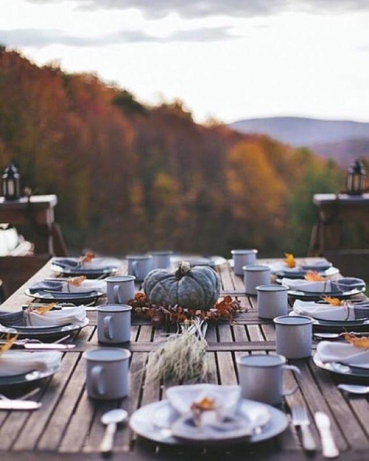 autumn table setting