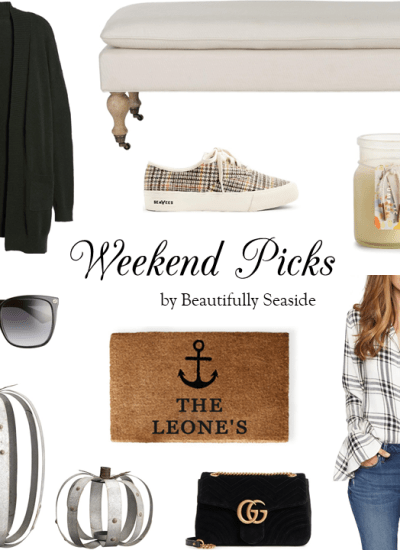 WEEKEND PICKS // CASUAL FALL AT HOME