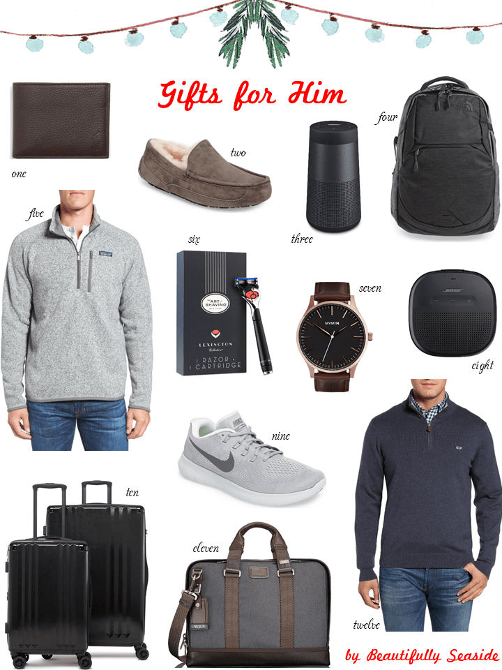 Christmas Gift Guide 2017 for Him