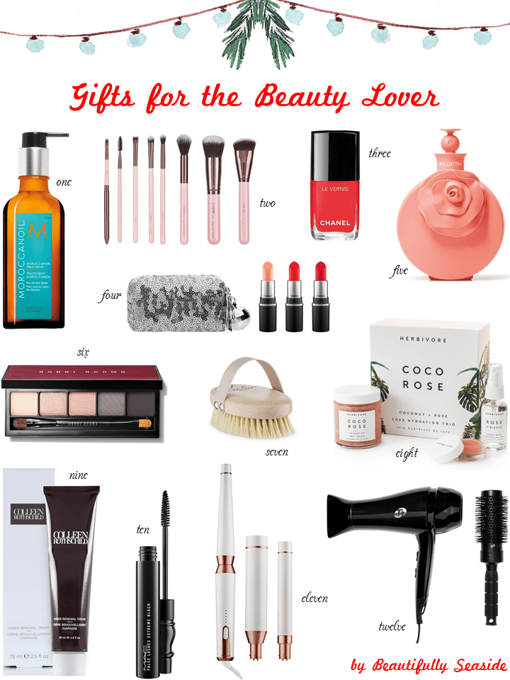 Holiday Gift Guide for the Beauty Lover Beautifully Seaside