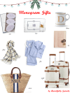 Holiday Gift Guide // Monogram Gifts Beautifully Seaside
