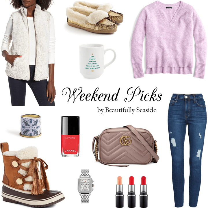 WEEKEND PICKS // COZY CHRISTMAS WISHLIST