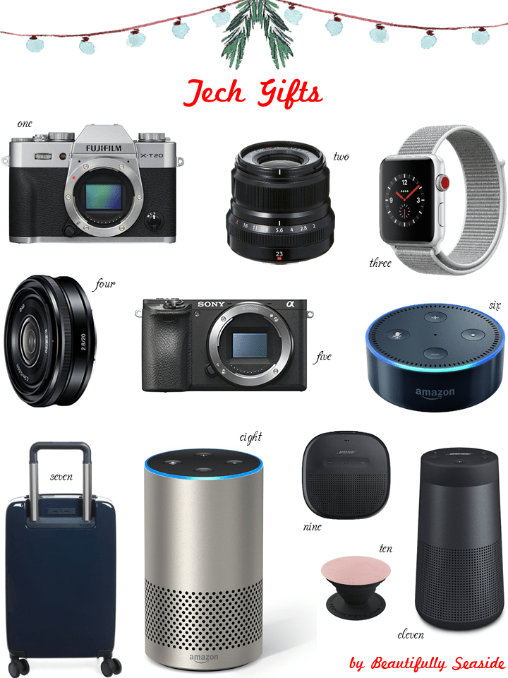HOLIDAY GIFT GUIDE FOR THE TECHIE