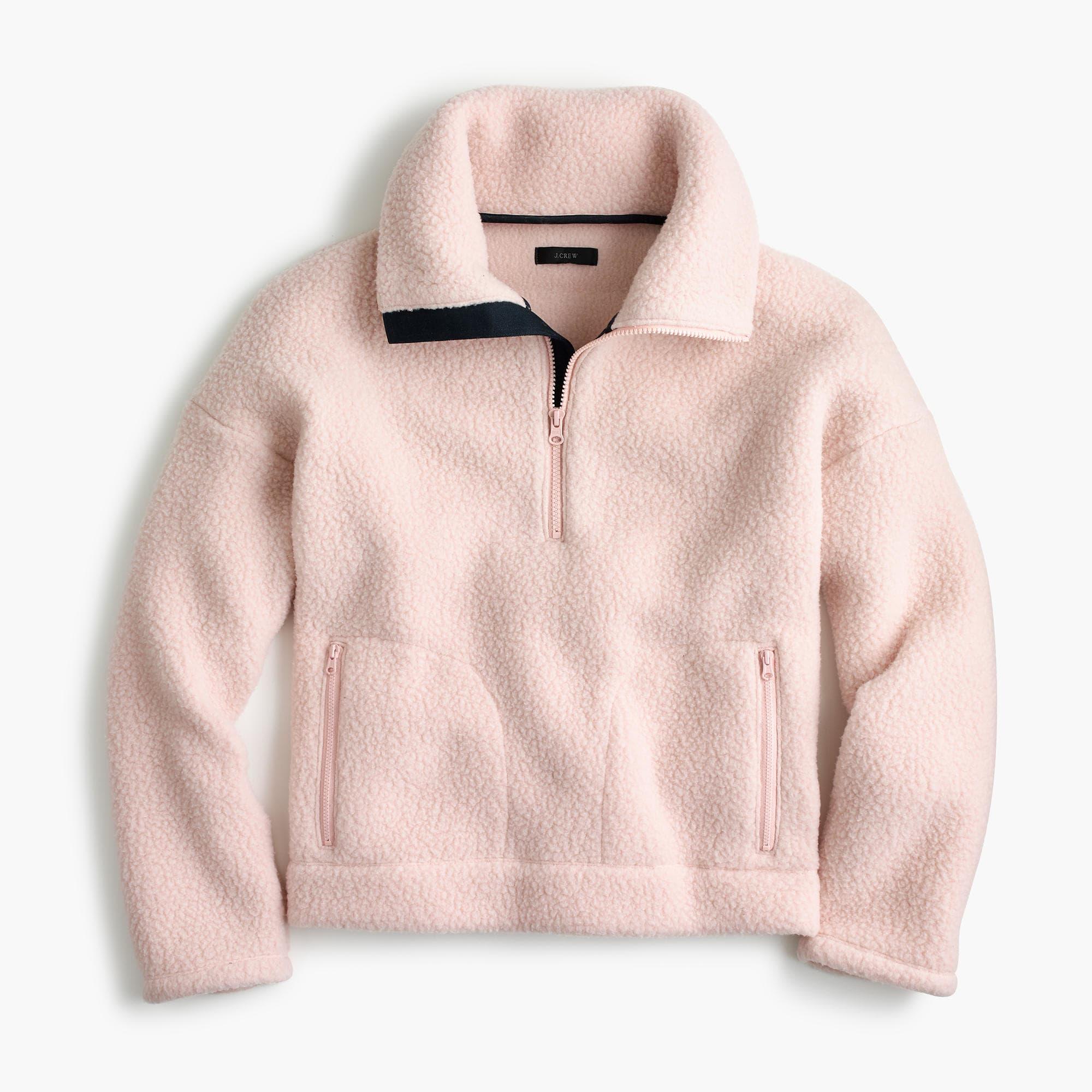 J.Crew fleece sweater