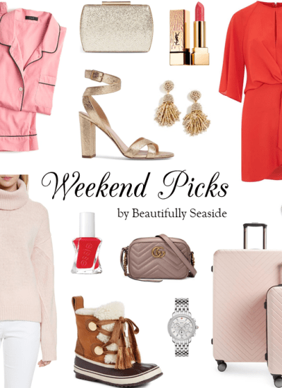 WEEKEND PICKS // PRETTY IN PINK & RED FOR CHRISTMAS