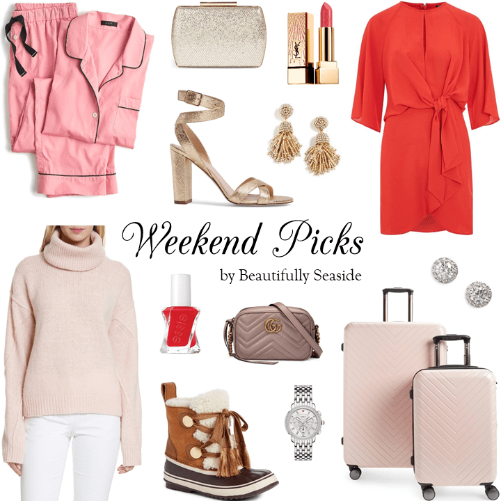 red & pretty in pink for Christmas