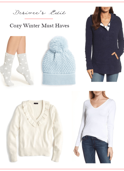 COZY WINTER MUST HAVES