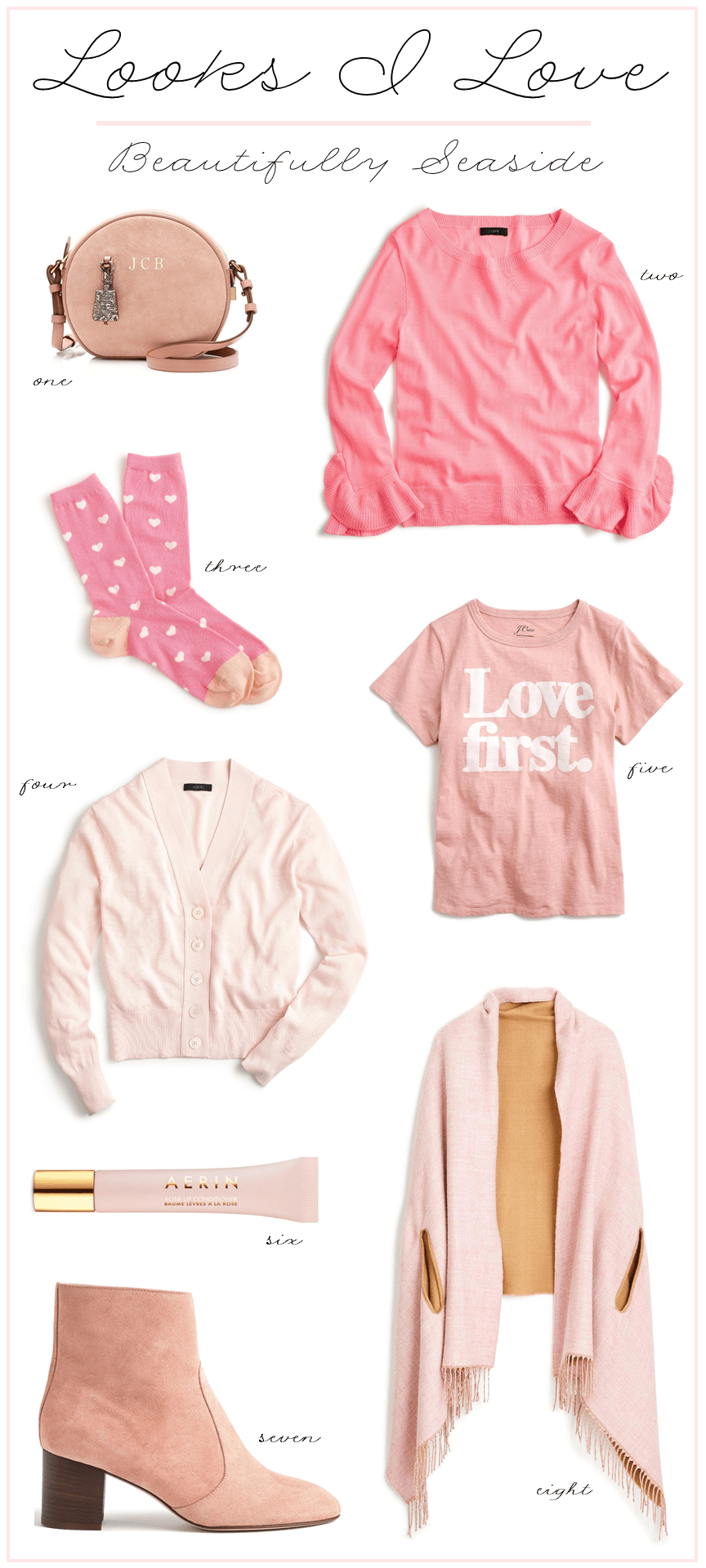 pink styles for spring