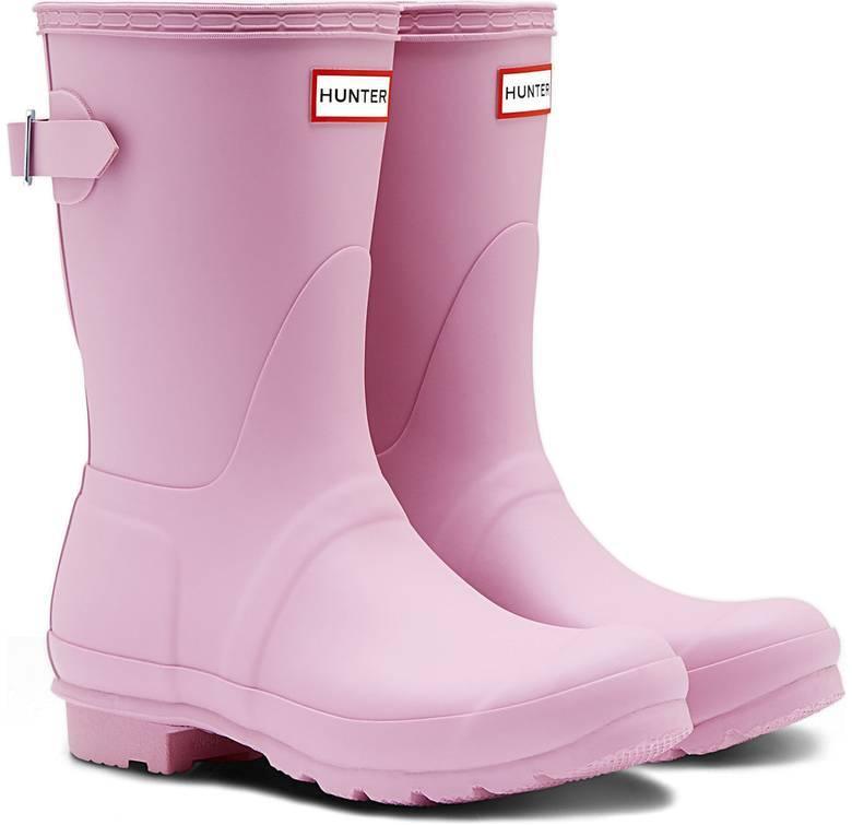 Hunter Short Rain Boots Pink