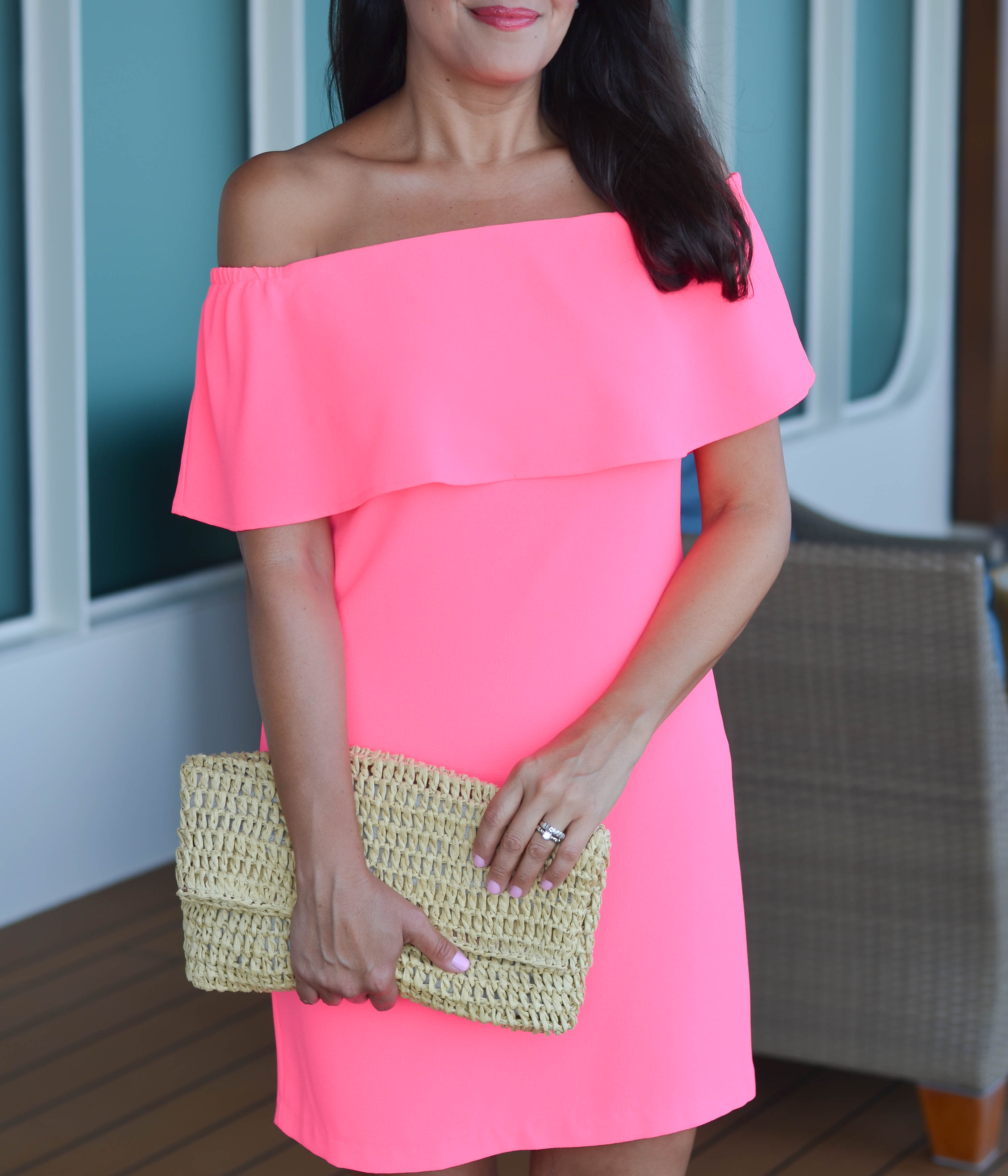 red and pink outfit ideas for Valentine's Day