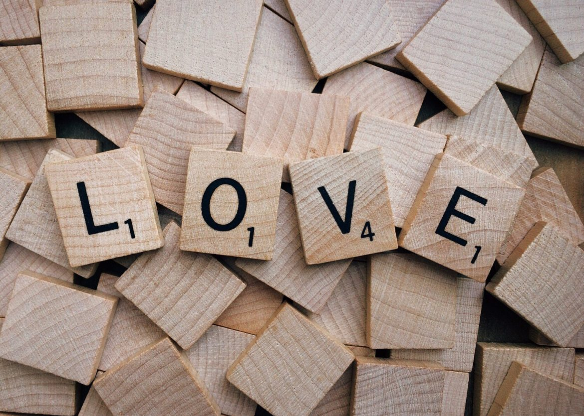 Canva Brown Wood Love Text Scrabble Tiles scaled