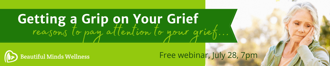 Grief Webinar Banner