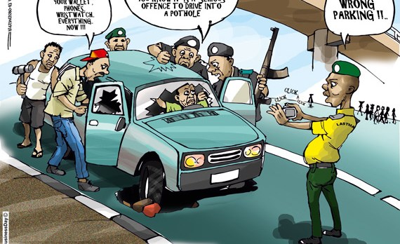 7 Times Cartoonist Mike Asukwo Correctly Described Happenings In Nigeria