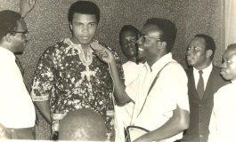 9 Rare Photos Of Muhammad Ali's Visit to Nigeria