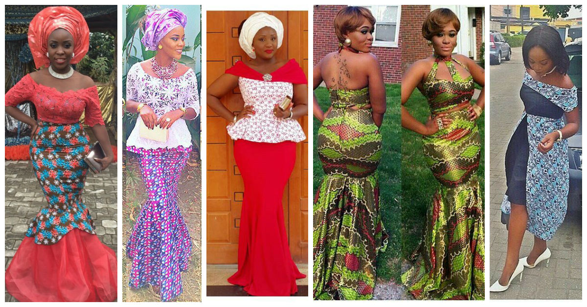 152c401ddd66b Latest Asoebi Lace Styles Fashion sketches t African