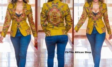 Beatiful Ankara Jackets For Fashionable Women