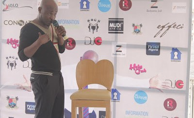 Nigerian Comedian, Gandoki breaks world record For Stand-up Commedy