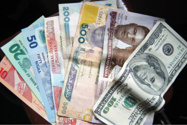 Naira and dollar notes
