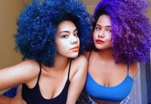 black girl natural hair colours