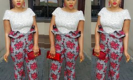 12 Beautiful Plain And Pattern Aso Ebi Styles You Can Add To Your Wardrobe