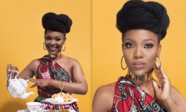 Beauty Entrepreneur, Nowe Isibor Shares Ankara Tea Party Inspired Photo