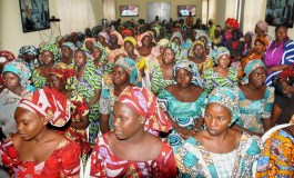 Department of State Service Hands Over Recently Released Chibok Girls