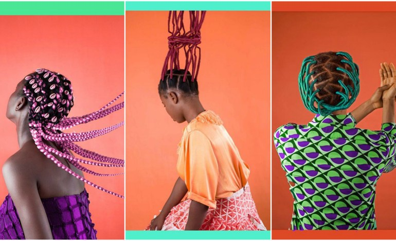 Medina Dugger is Celebrating The Art Of Nigerian Hair in Her Chroma Photo Series
