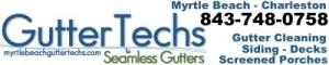 Myrtle Beach Gutter Techs; gutter cleaning; myrtlebeachguttertechs.com; siding repair; 843-748-0758; siding installation; screened porch contractors; seamless gutter systems; photo friends; seamless gutters; gutters Charleston, SC;