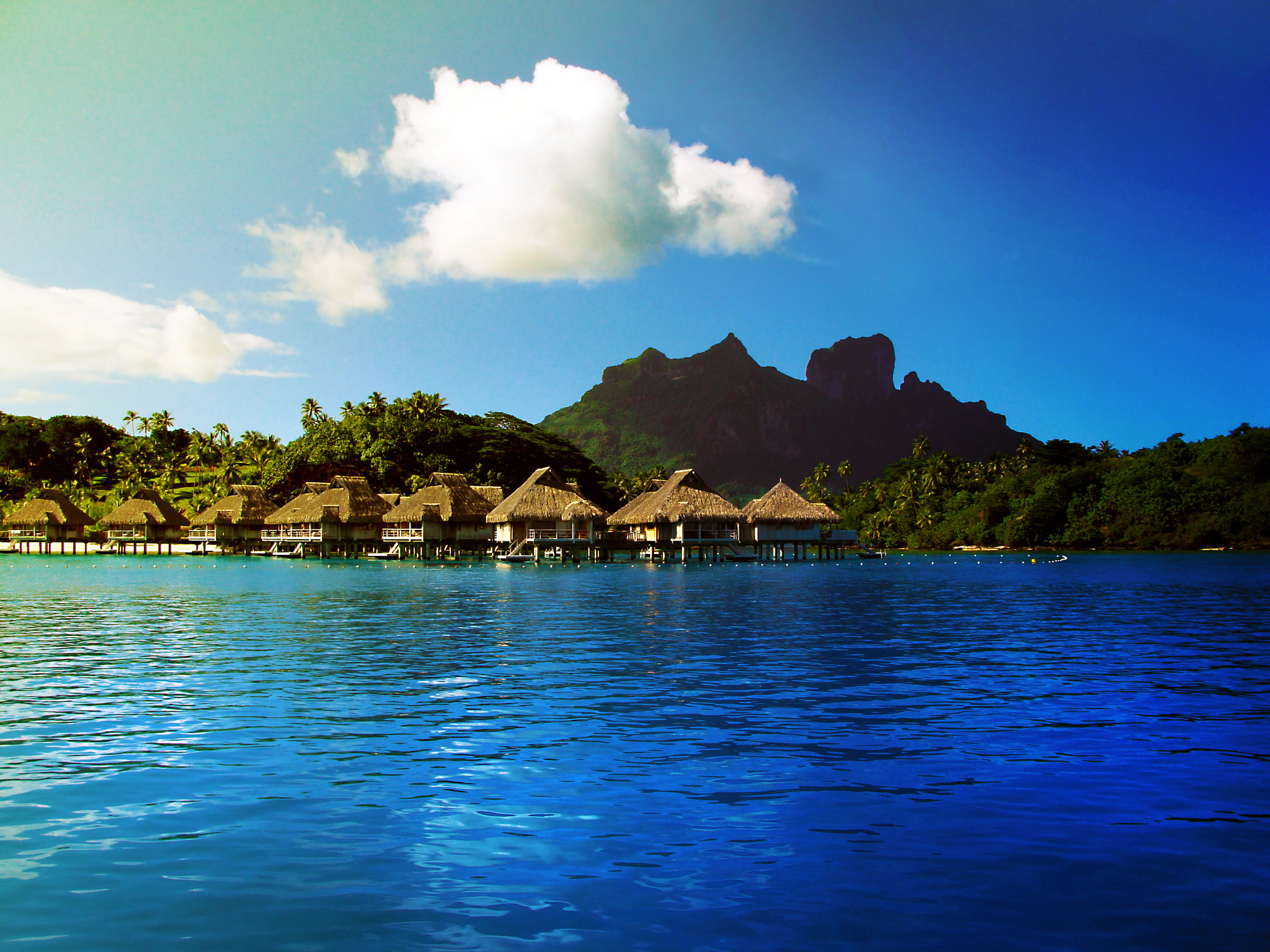 Hd Wallpaper Pictures Bora Bora French Polynesia Amazing Funny