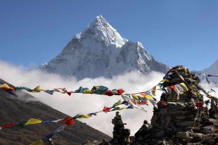 Mount Everest Base Camp, Nepal and Tibet