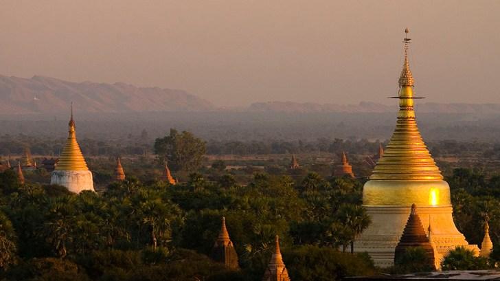 Myazedi Pagoda, Bagan, Myanmar