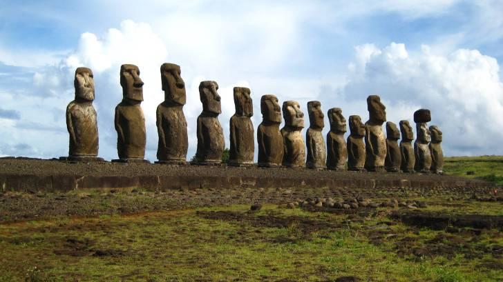 Moai Statues, Easter Island
