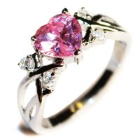 Heart Shaped Promise Rings - Beautiful Promise Rings