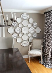 hanging-plates-on-wall-dining-room-with-table-decorating-ideas-astonishing-wall-decoration-for-living-room-areas-with-black-and-white-decorative-plates-inlcuding-zebra-patterned-plates-hang
