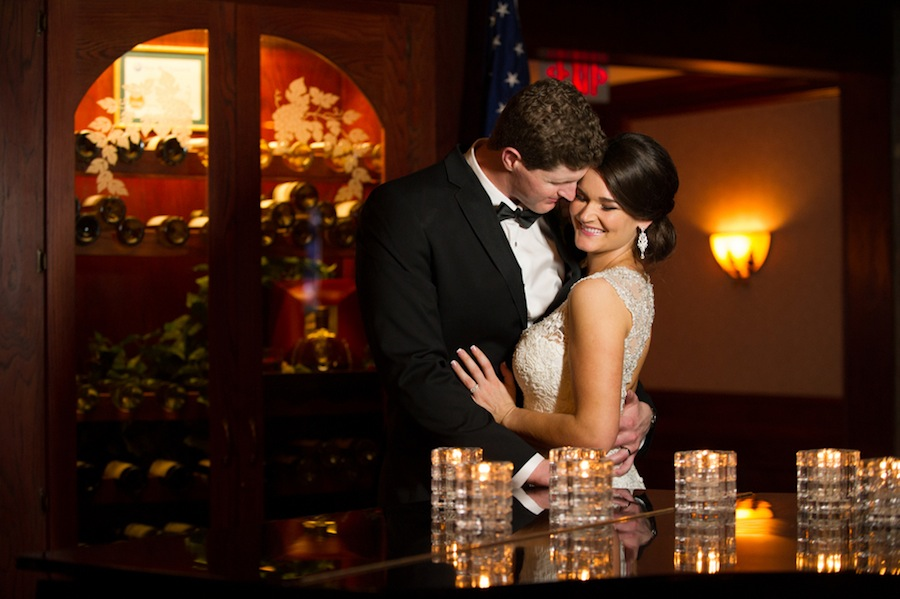 Tampa Bride and Groom Wedding Portait