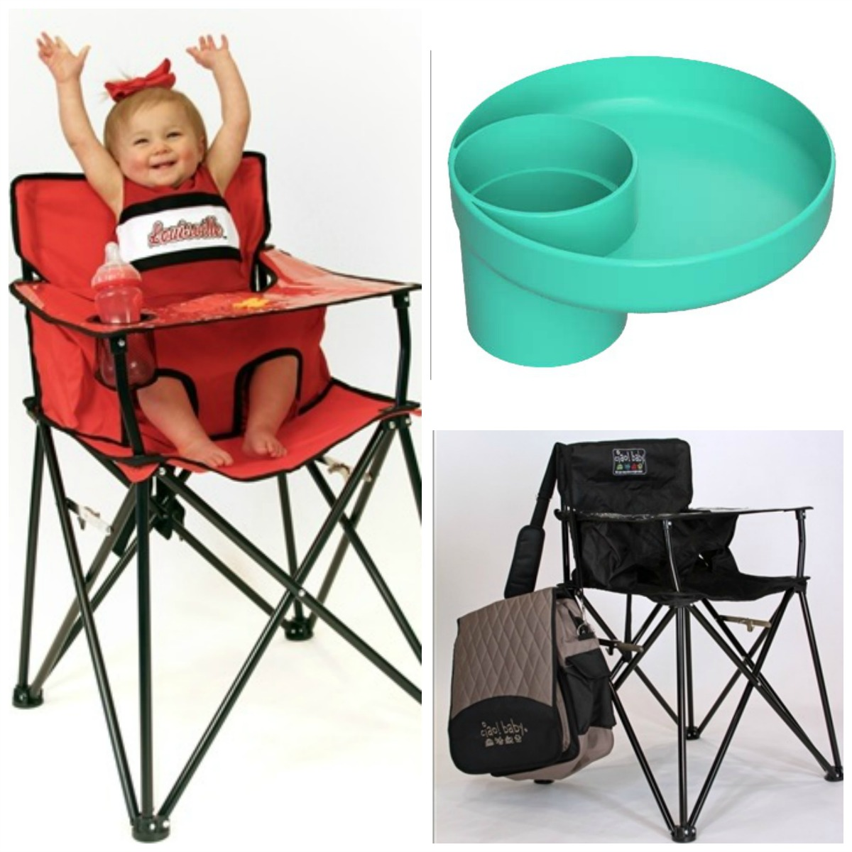 outdoor baby portable high chair folding desk comfy seating by ciao beautiful touches