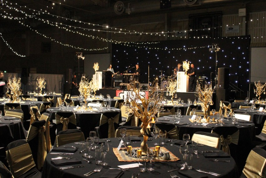 Gold Trees - Corporate Event