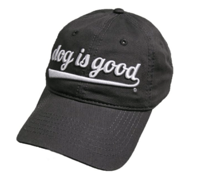 dog is good signature script hat at beautify the beast