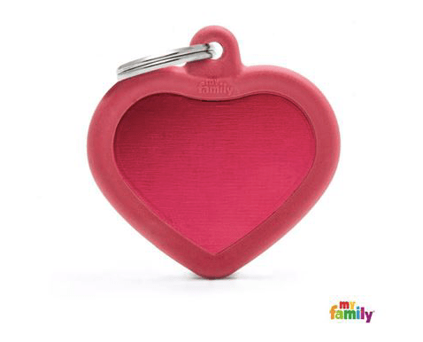 picture of red heart hushtag