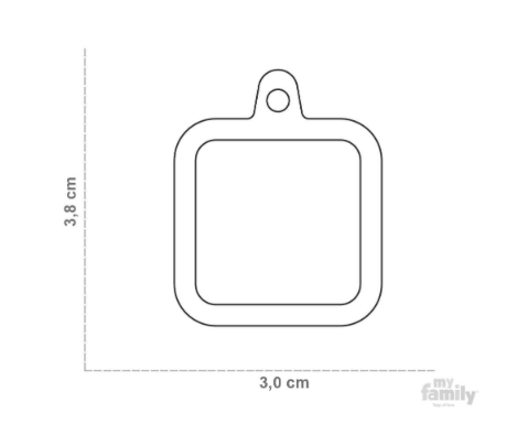 size chart square hushtag
